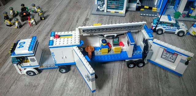 Univers de jeu lego police - Lego camion police ...