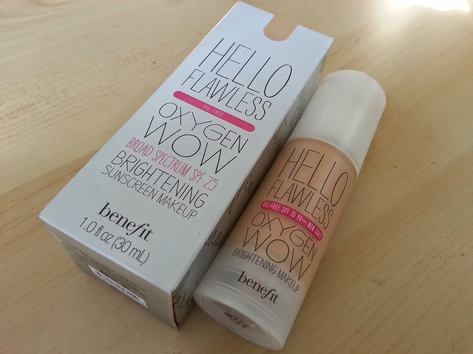 Review Benefit Hello Flawless Oxygen Wow Foundation BeHonestBeauty #933858