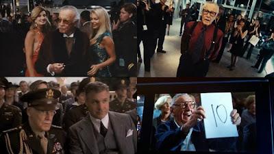 Penampaan Stan Lee dalam film Superhero