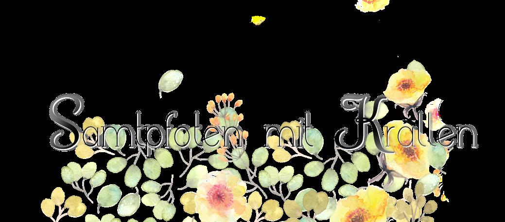 Samtpfoten mit Krallen
