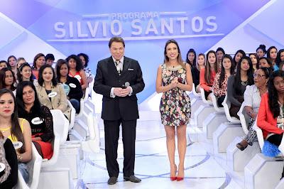 Silvio e Patricia - (Crédito: Lourival Ribeiro/SBT)
