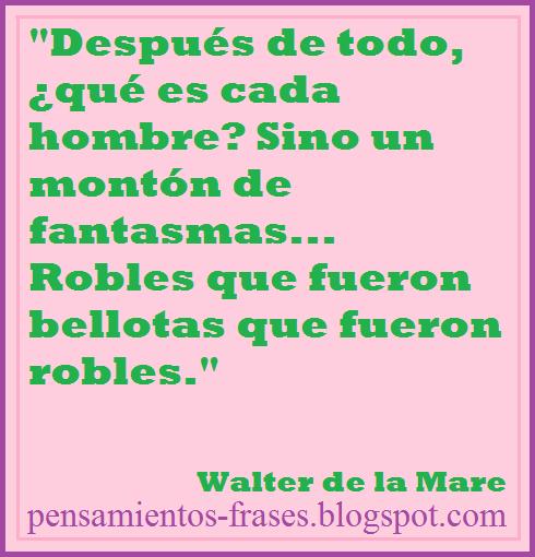 frases de Walter de la Mare