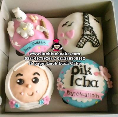 Cupcake 2d Menara Eiffel Surabaya - Sidoarjo