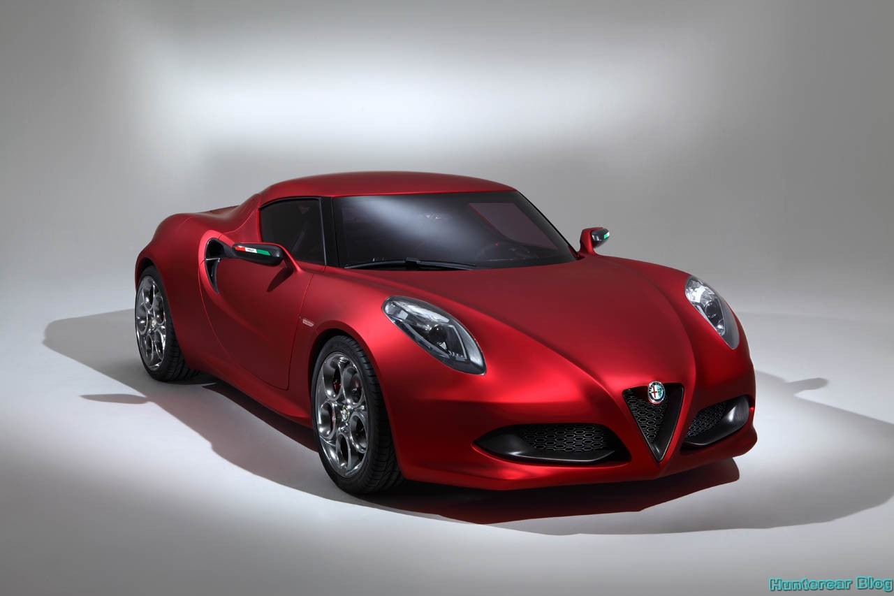 alfa romeo 4c convertible version of the upcoming 4c coupe. Black Bedroom Furniture Sets. Home Design Ideas
