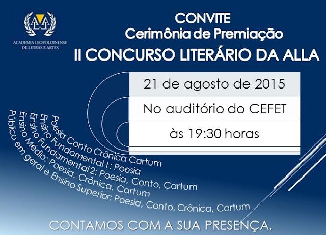 Finalistas das categorias Poesia, Conto, Crônica e Cartum