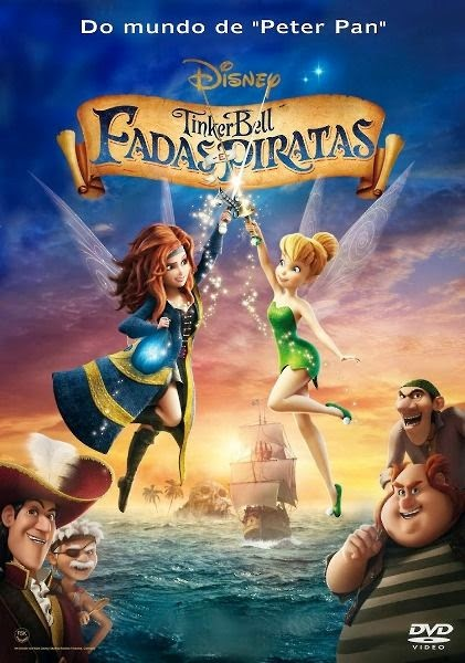 Tinker Bell: Fadas e Piratas   Dublado RMVB + AVI Dual Audio BDRip (2014)