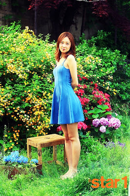 Gong Hyo Jin - @Star1 Magazine Cutie in Blue June Issue 2013