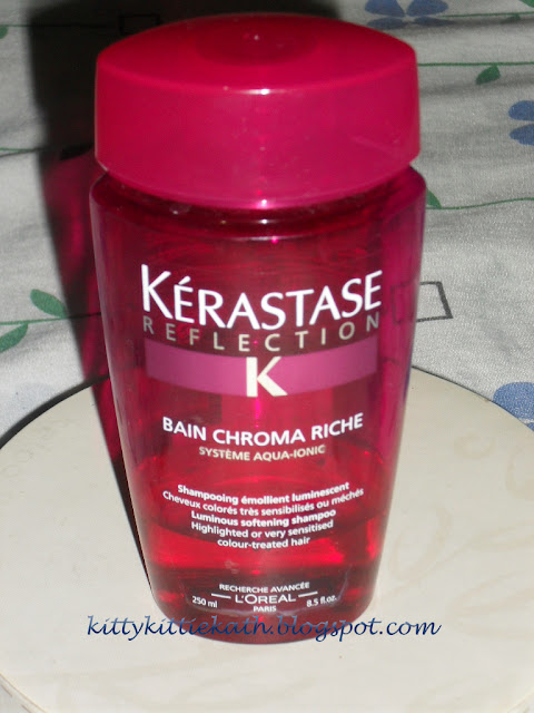Product review kerastase reflection bain chroma riche for Kerastase reflection bain miroir 2 shampoo