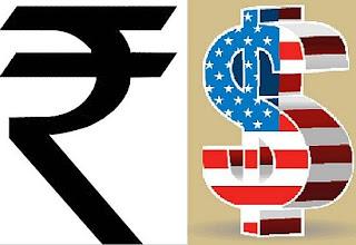 dollar vs rupees