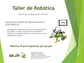 TALLER DE ROBÓTICA