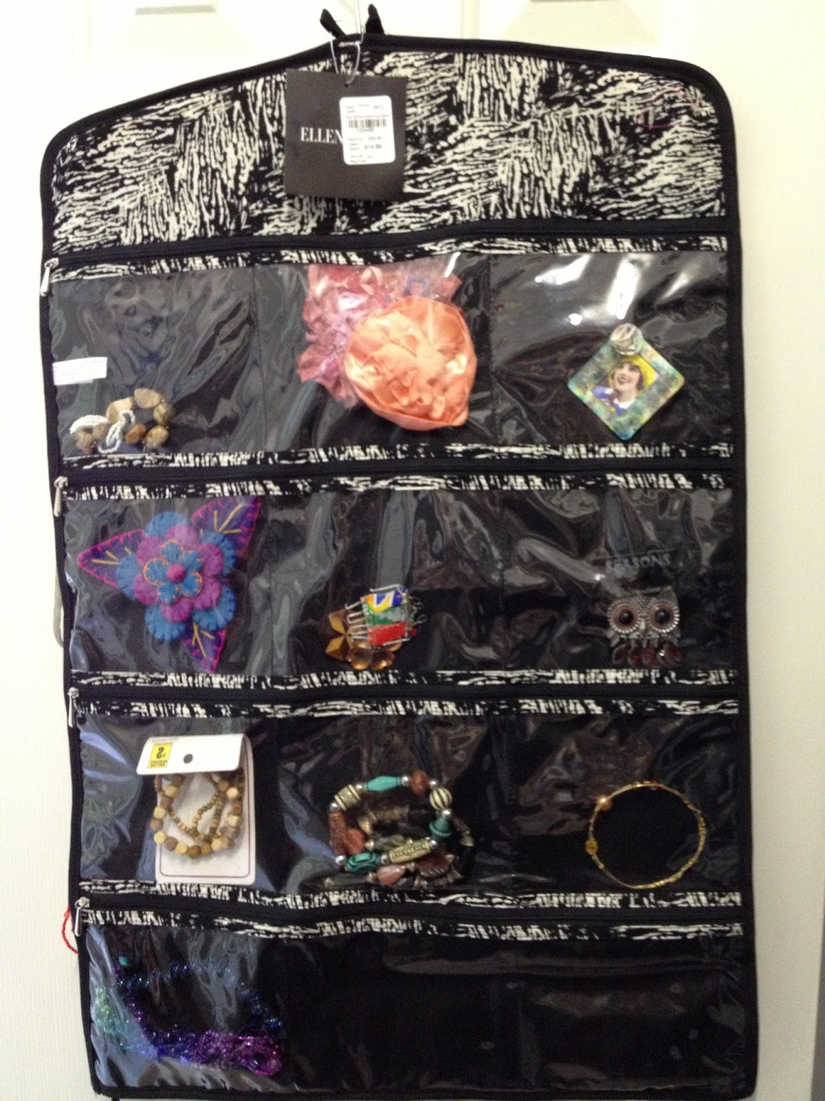 All Things Quilty and Artsy Jewelry Organization