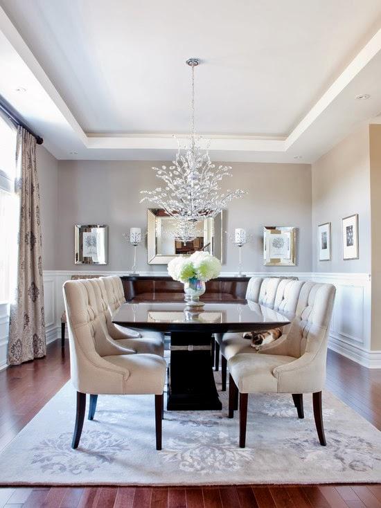 Hogares frescos c mo renovar dise ar y decorar su comedor - Disenar salon comedor ...