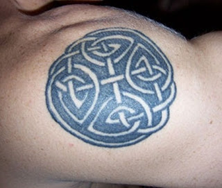 celtic sun tattoo design