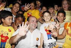 Roberto Cláudio o Prefeito que a Criançada aprovou