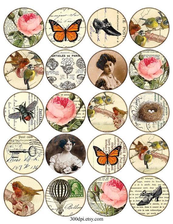 Imprimolandia im genes circulares para imprimir 2 - Vintage bilder kostenlos ...