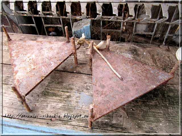 самодельные якаря для резиновой лодки