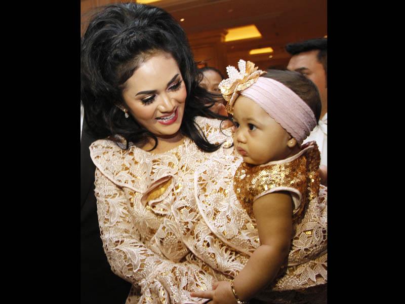 ... resepsi pernikahan Anang dan Ashanty , Minggu malam, 20 Mei 2012
