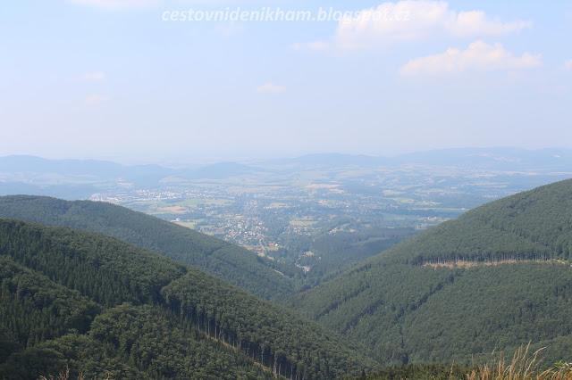 výhled z hory Radhošť // a view from Radhošť mountain