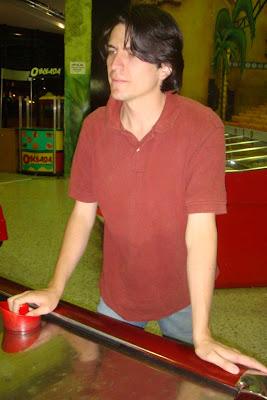 Ricardo Astrauskas jugando Jokey