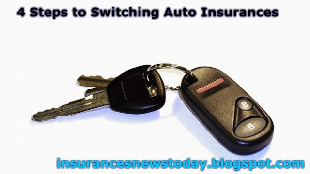 4 Steps to Switching Auto Insurances