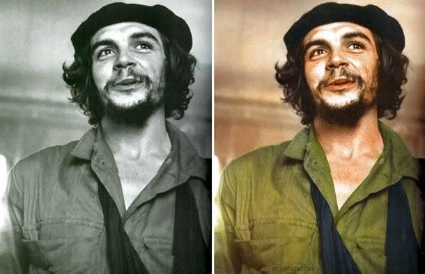 Che Guevara - manipulação digital - Sanna Dullaway