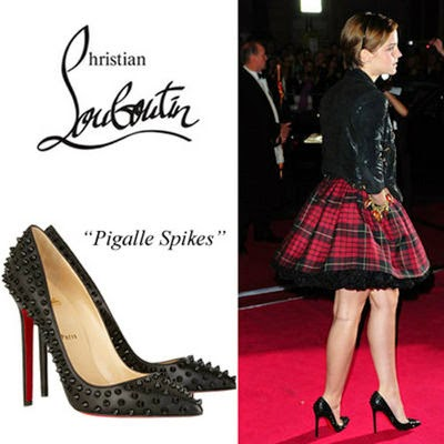 christian louboutin pigalle spikes 120mm black