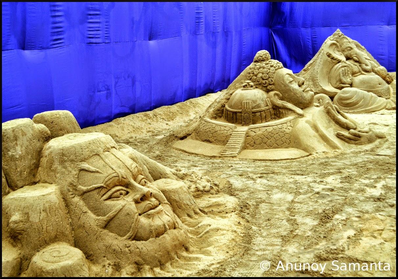 Puri Sand Art Festival 2015