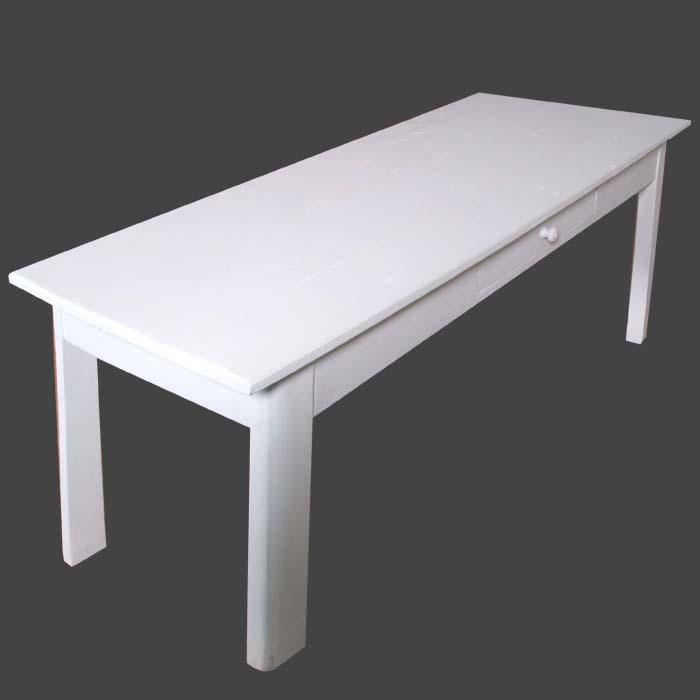 Mobili shabby chic atelier myartistic tavolo scrivania - Decapare un tavolo ...