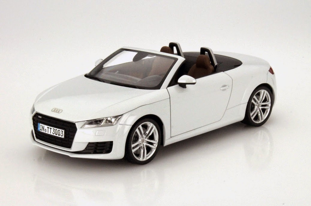 audi tt roadster im ma stab 1 18 vorbote des fr hlings. Black Bedroom Furniture Sets. Home Design Ideas