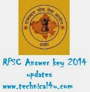 www.rpsc.rajasthan.gov.in RPSC LDC Grade II Answer key 2014 | Clerk Answer sheet 2014