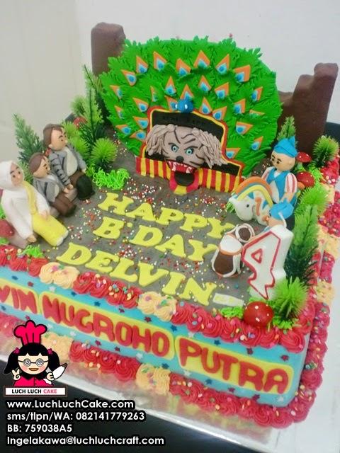 kue tart ulang tahun anak laki-laki