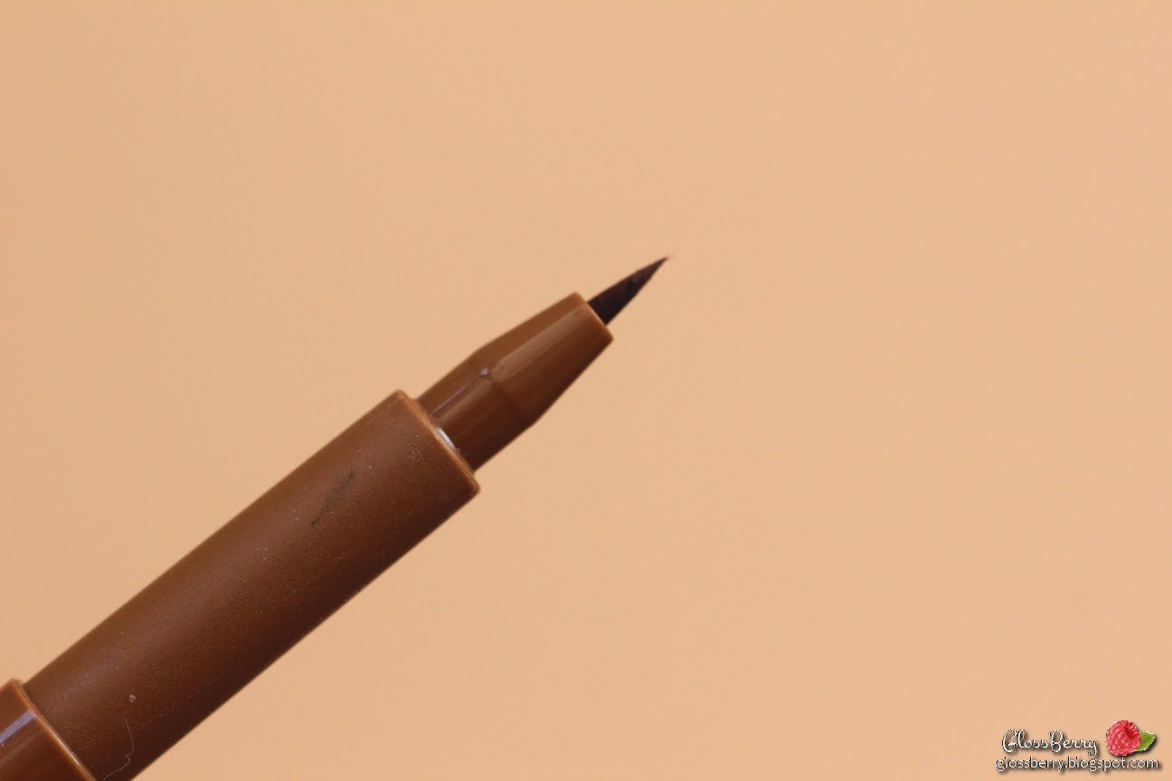 עט עפרון צבע לגבות מילאני milani brow tint taupe צ'רי קאלצ'ר cherry culture beautyjoint swatches review
