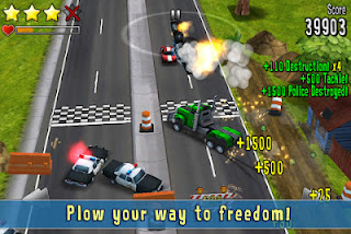 Reckless Getaway iPhone 4S screenshot