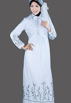 Baju Gamis Muslim – Dalam hal berbusana untuk kaum mu