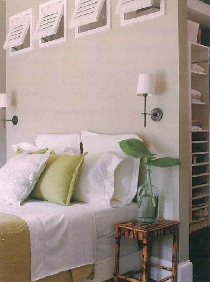 Coastal tropical bedroom