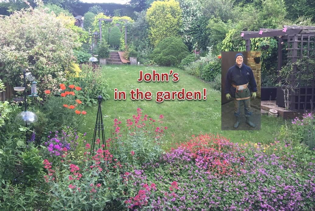 John\'s in the garden