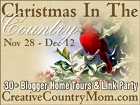 Christmas in the Country Link Party and Home Tour 2014 at Creative Country Mom.com