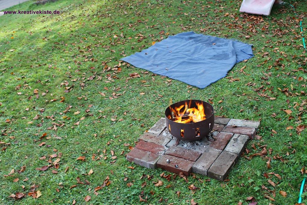 Eine Feuerschale günstig und schnell selber gebaut ohne zu schweißen ...