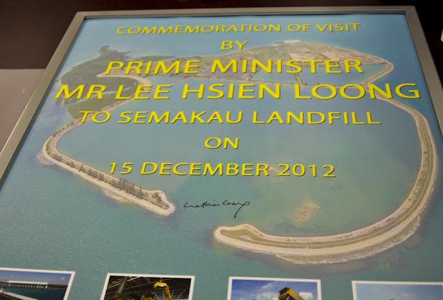 Prime Minister visit Semakau