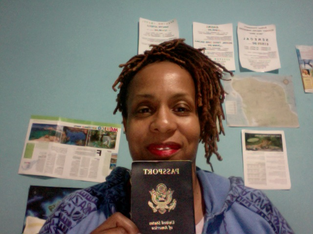 Proud Passport Holder Janice Temple