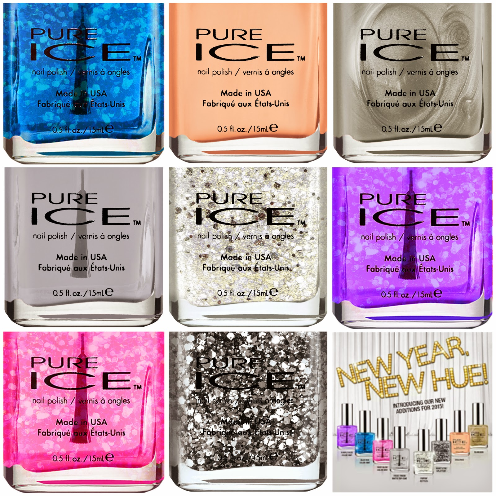 New Year New Hue by Pure Ice