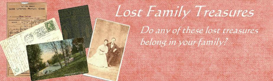 Lost Family Treasures
