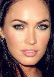 Megan Fox Eyelids