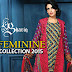 Feminine 2015 By Shariq Textile | Party Wear Feminine Summer Dresses 2015-16