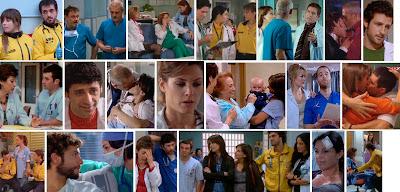 Fotogramas de escenas de 'Hospital Central' - Raquel y Javier, Boni