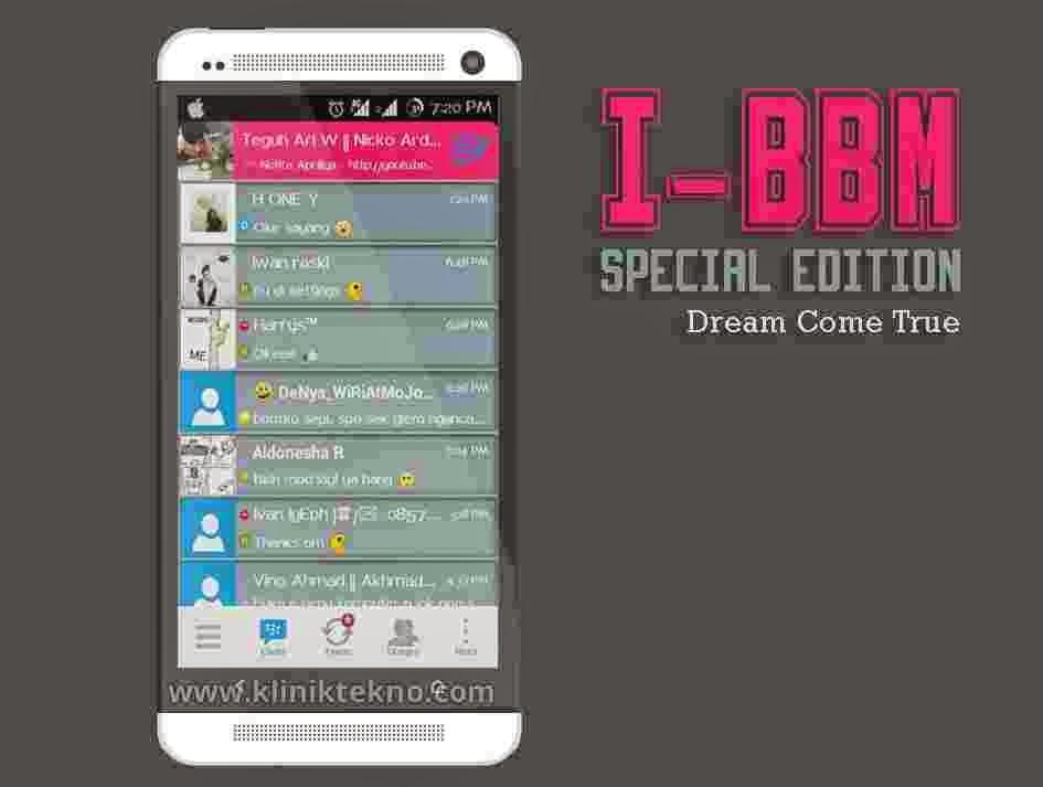 download i-BBM Mod Special Edition terbaru 2015