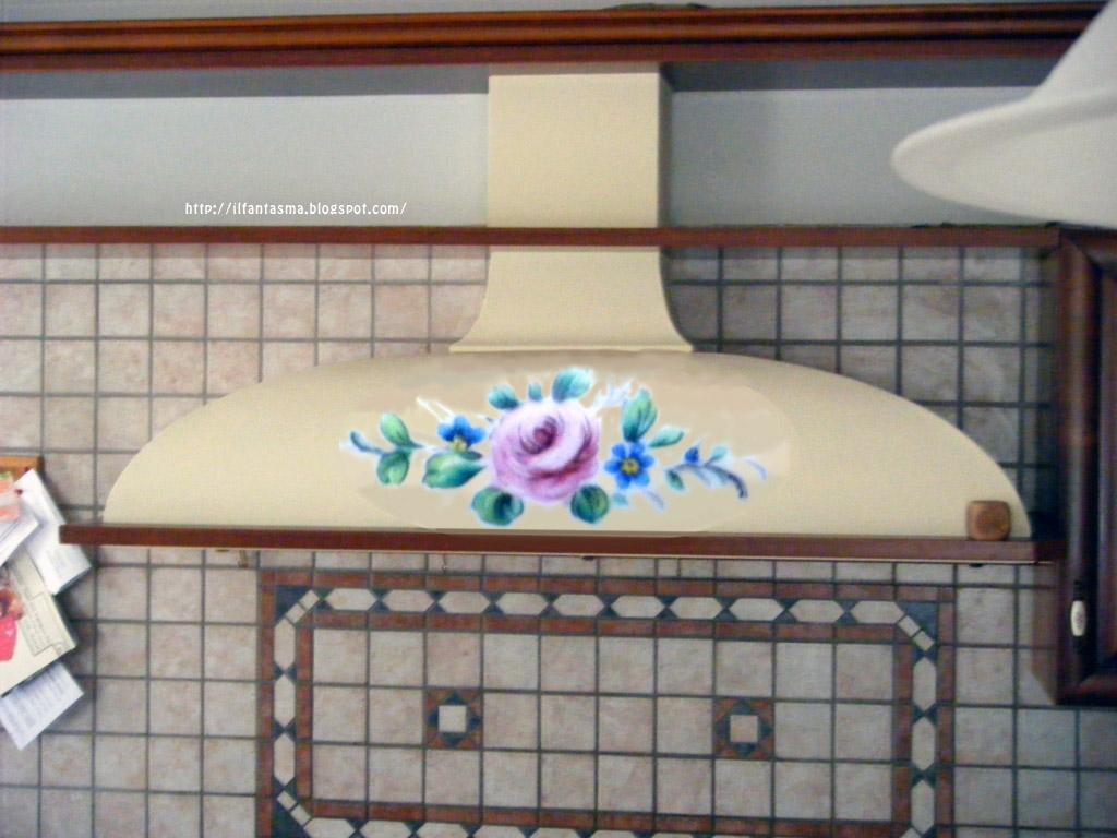 Le avventure della mia fantasia bricolage dipingere una rosa prima parte come decorare una - Dipingere una cucina ...