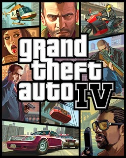 Grand Theft Auto (GTA) IV Cover Image Game