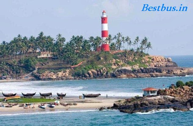 best tourism places in india, top tourism places in india, kovalam beach, kerala, beaches in india, tourism places in kerala