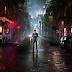 """Herói e vilões nas ruas em pôster animado de """"Marvel's Daredevil"""", a série do Demolidor na Netflix"""
